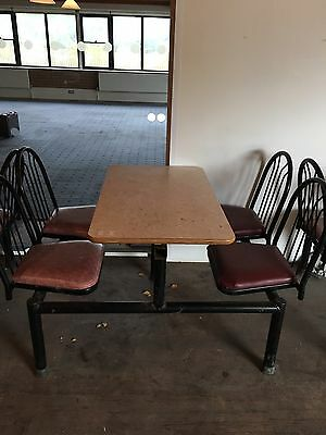 Cafe Tables And Chairs X 4 And 4tables