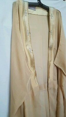 Stunning Saudi bisht mashlah arab robe... new colours
