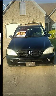 2002 Mercedes-Benz M-Class  Runs good, 2 sets of tires, clean title. Needs breaks and a battery