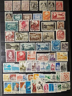 ROMANIA Mixed Unchecked Stamps (No1155)