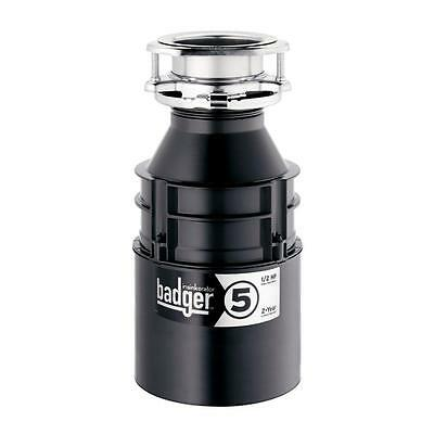 Badger 5 1/2HP Garbage Disposal NEW IN BOX **Authorized Distributor**