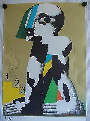Olympia 1972 München Plakat Poster Horst Antes Edition Kennedy Graphics 101x64