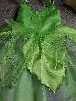 Disney store Tinkerbell dress and shoes