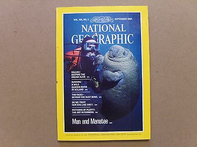 National Geographic Magazine - September 1984 - See Images For Contents