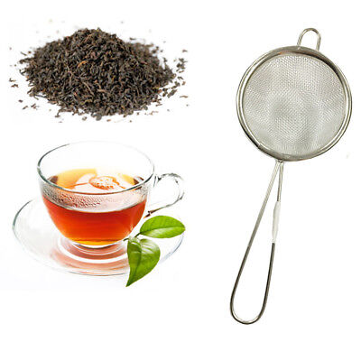 7 cm Tea Strainer Fine Metal Wire Mesh Kitchen Straining Traditional Loose Tea