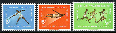 Papua New Guinea 171-173, Mint. British Empire and Commonwealth Games, 1962
