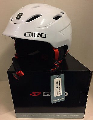 Giro 9 Ten youth junior jnr snowboard ski helmet white medium 55.5-59cm
