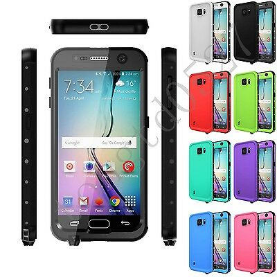 Xyd Waterproof Swimming Underwater Shockproof Case Cover For Samsung Galaxy S6