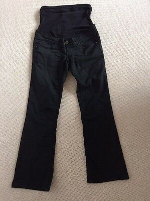 New Look Maternity Black Bootcut Jeans Size 8