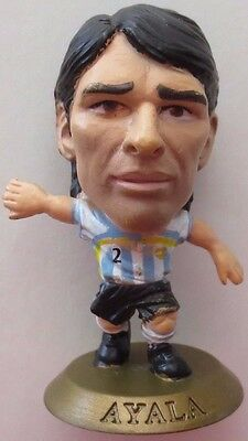 Roberto Ayala 2006 Argentina Football Corinthian Figure Gold Base MC5658