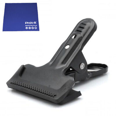 Phot-R 2x Gorilla Muslin Clamp Clip Background Backdrop Support Chamois Cloth