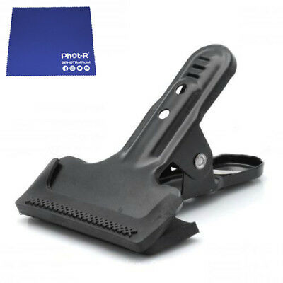 Phot-R 4x Gorilla Muslin Clamp Clip Background Backdrop Support Chamois Cloth