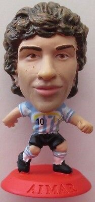 Pablo Aimar 2006 Argentina Football Corinthian Figure Red Base MC5461, Valencia