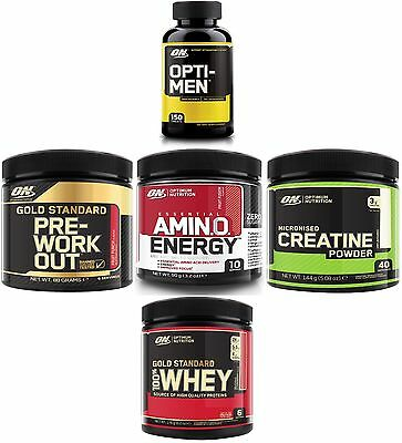 Optimum Nutrition Amino Energy / Creatine / Gold Pre / Gold Whey / Optimen