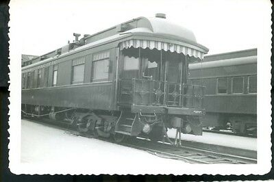 Railroad Photo Canadian Pacific Railways Private Business Car  March 1957