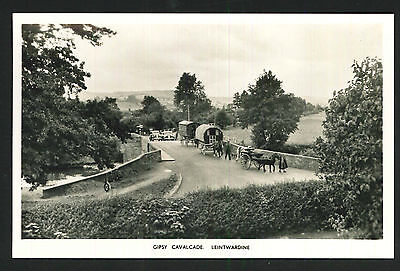 Postcard - Gipsy Cavalcade, Leintwardine - Real Photo