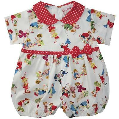 Powell Craft - Girl at Play Suit 100% Cotton & Gift Box