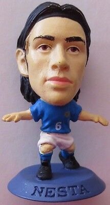 Alessandro Nesta 2002 Italy Football Corinthian Figure Blue Base MC931, AC Milan