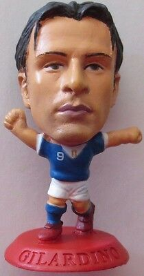 Alberto Gilardino 2006 Italy Football Corinthian Figure Red Base MC5478