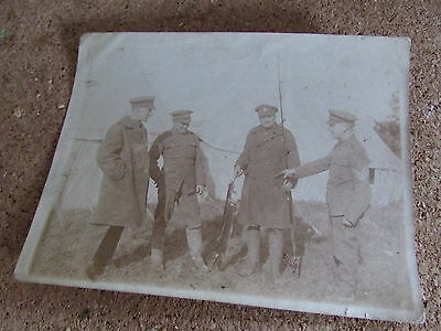WW1 British Soldiers Photo  NAMED