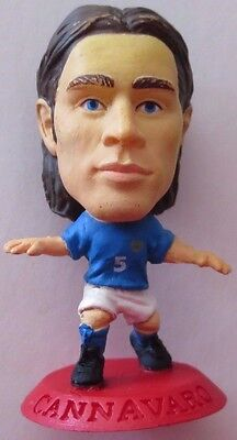 Fabio Cannavaro 2002 Italy Football Corinthian Figure Red Base MC926, Parma Juve