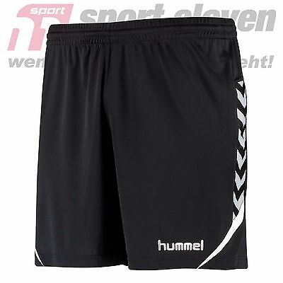 Hummel Authentic Charge Poly Shorts schwarz/weiß - 11-334-2001