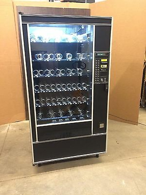AP 113 Snack Machine 5 Wide Dual Spiral, LED $1's & $5's