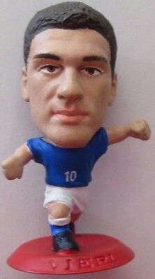 Christian Vieri 2001 Italy Football Corinthian Figure Red Base MC504 Inter Milan