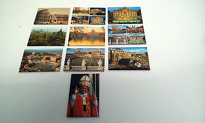 Collection / Joblot Fridge Magnets From Rome - NEW