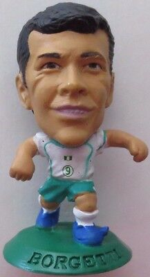 Jared Borgetti 2006 Mexico Football Corinthian Figure Green Base MC5740 S.Laguna