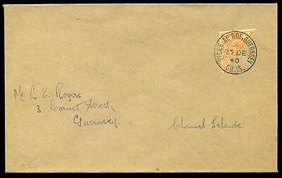 Channel Islands Guernsey 1940 2d Bisected First Day Cover - BPA Cert
