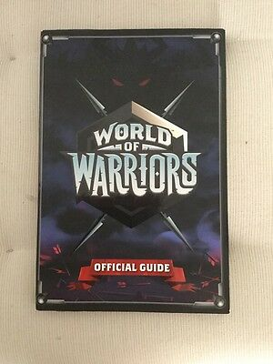 World Of Warriors Official Guide En Ingles