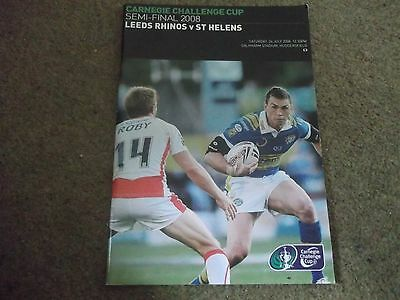 2008 Rugby League Challenge Cup Semi Final Leeds V St Helens @ Huddersfield 26/7