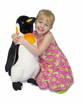Melissa  Doug Giant Penguin - Lifelike Stuffed Animal (nearly 2 feet tall)