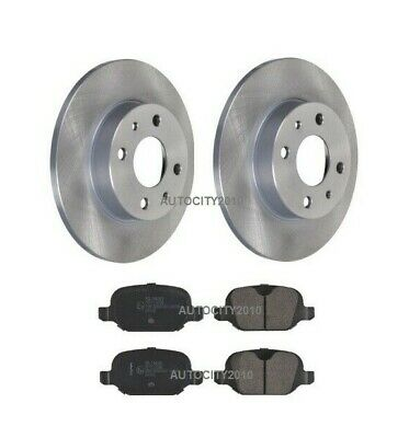 2008- FIAT 500 1.2 1.4 FRONT SOLID BRAKE DISCS AND BRAKE PADS SET