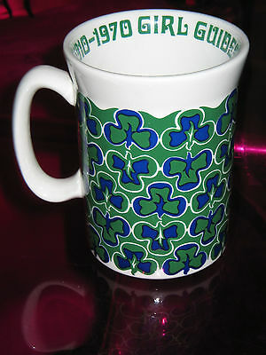 Girl Guides Diamond Jubilee Mug 1970 - Heathlands Animal Charity Sale