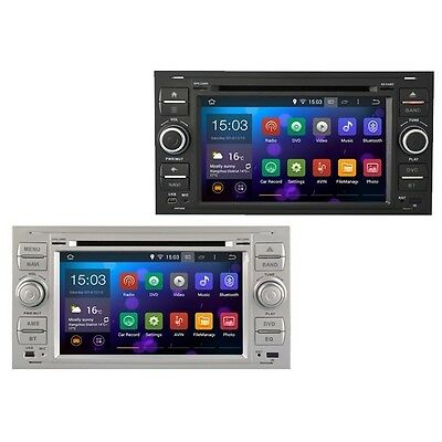 autoradio ford focus s max kuga c max gps android 8 wi fi. Black Bedroom Furniture Sets. Home Design Ideas
