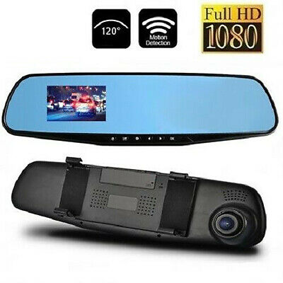 Specchietto Frontale Monitor Dvr Videoregistratore Video Telecamera Full Hd Auto