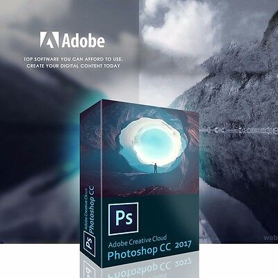 Adobe Photoshop CC 2017 (64-bit) Download FULL Unlimited Software Licence