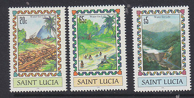 St Lucia 1996 Irrigation set um-mint