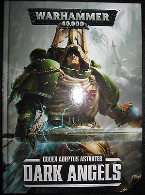 Warhammer 40k Codex Dark Angels 7th edition Codex Hard Cover