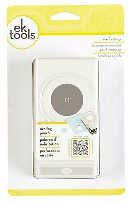 EK Tools: Nesting Paper Punch -  Circle Punch 1.25-Inch