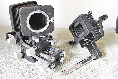 Nikon PB-4 Bellows unit, with PS-4 slide copying attachment