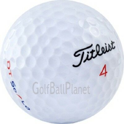 50 Near Mint Titleist DT Solo Used Golf Balls