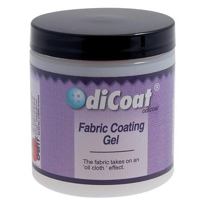 Odicoat Water Resistant Fabric Coating Gel 250ml by Odif Clear Brush on