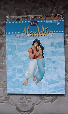 Disney Graphic Novels Aladdin  + poster + stickers