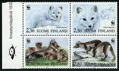 Aland Stamps Gibraltar 2002 Wild Animals Monkey/macaque Red Fox Shrew/rodents Rabbit 4v Mnh