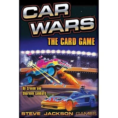 CAR WARS - The Card Game - Steve Jackson Games - NEW
