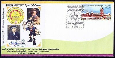 14th Indian Railways Jamborette, Train, Scout, Girls Guide Baden Powell, Special