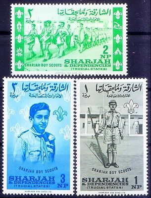 Sharjah MNH, Boys Scout - B121